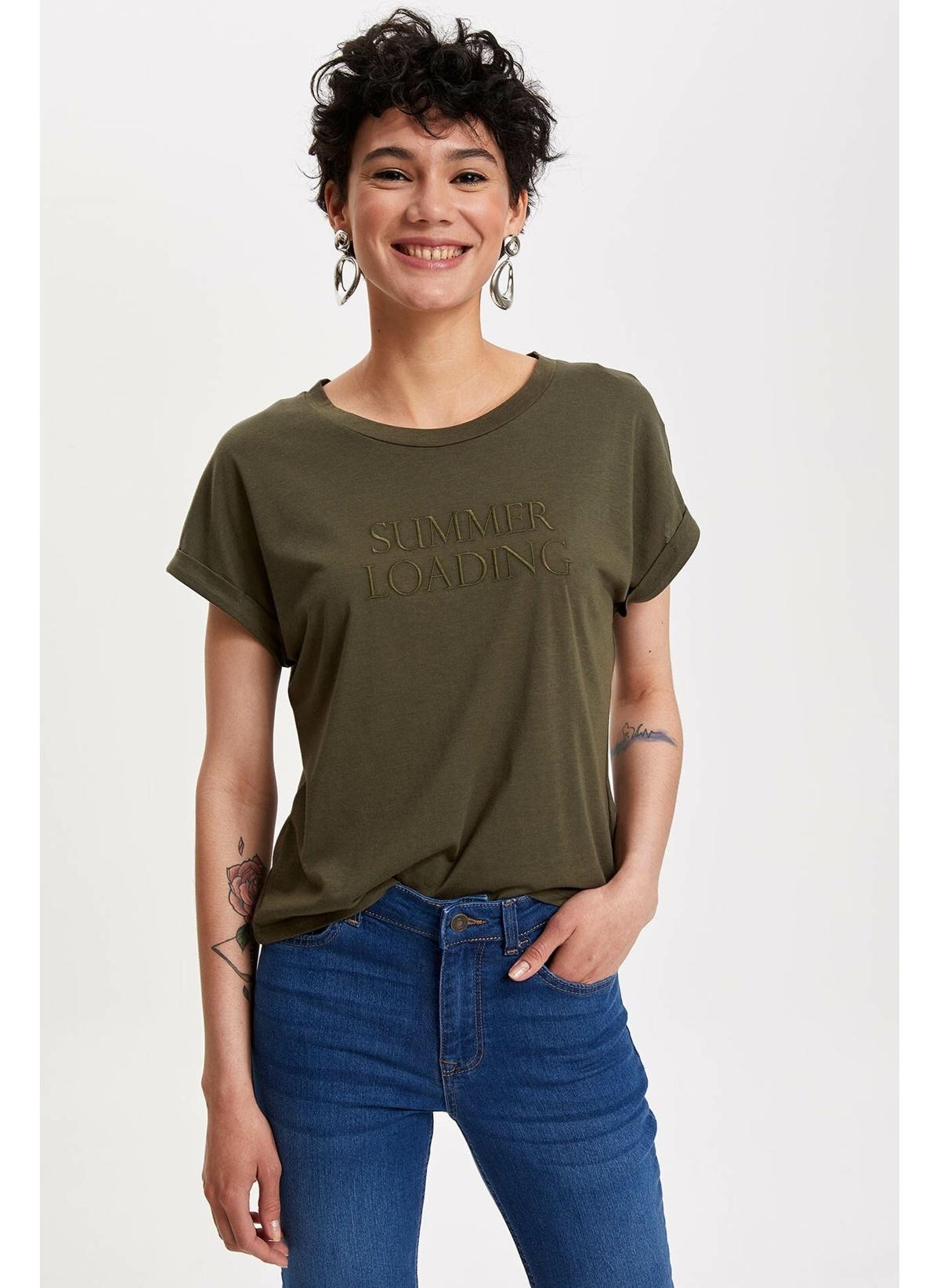 Defacto Tişört K7957az19smkh211t-shirt – 29.99 TL
